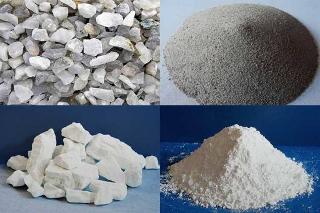 Шамотная глина – инструкция по применению и характеристики