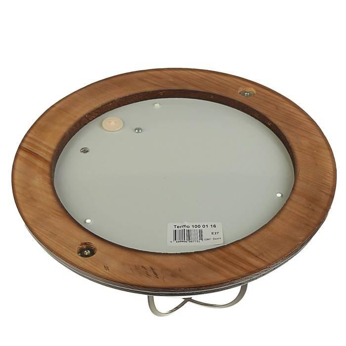 Как выбрать влагозащищенные светильники для бани: виды, требования, место установки