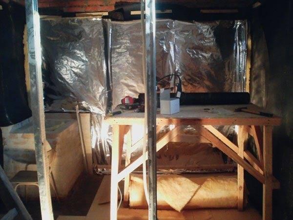 Баня в гараже своими руками: как построить в подвале, проекты