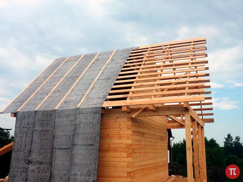 Чем временно накрыть крышу: лучшие способы