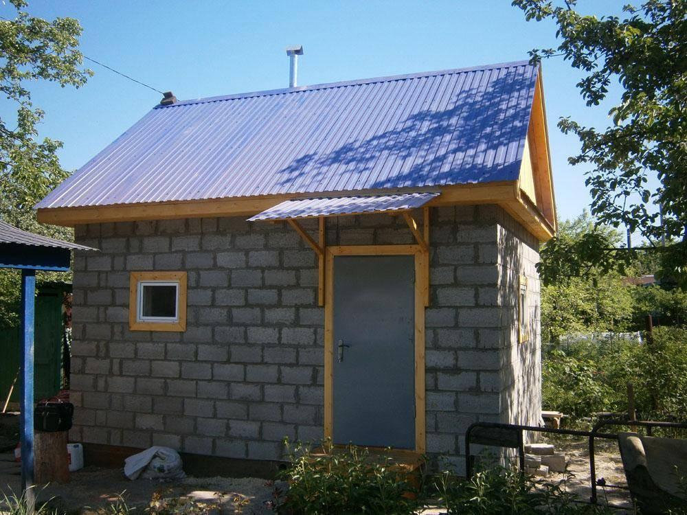 Проекты бань из пеноблоков (52 фото): как построить своими руками дом с бассейном 6х4 из пеноблока
