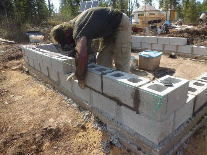 Особенности строительства бани из блоков своими руками