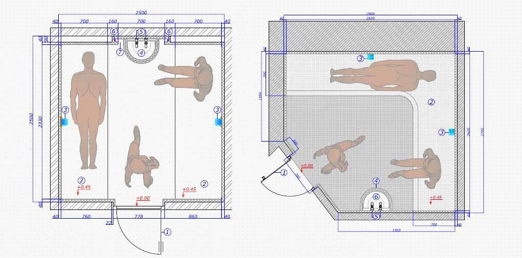 Хамам своими руками поэтапно - как сделать курну, парогенератор, лежаки, для дома и дачи, чертежи и пошаговая инструкция