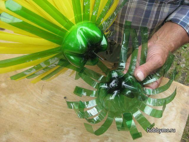 Вертушка из пластиковой бутылки своими руками – фото, видео мастер-класс