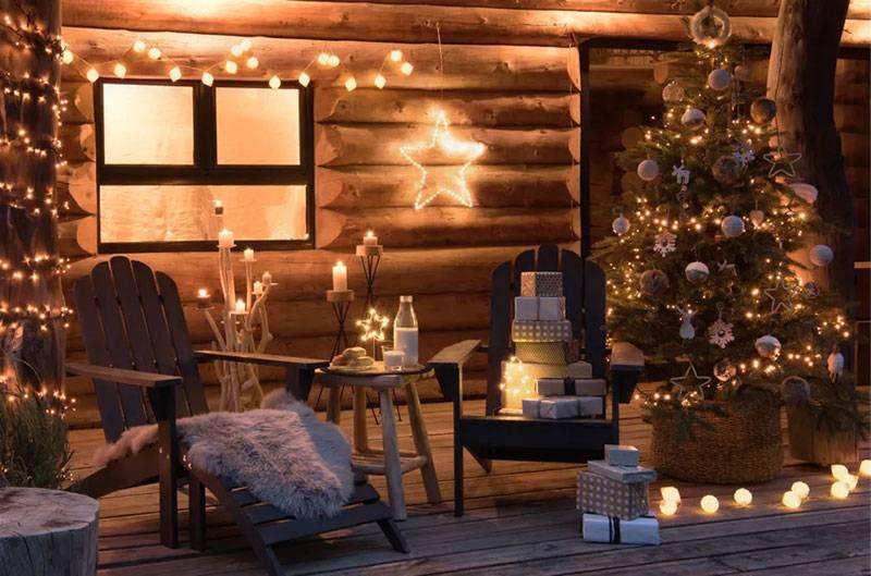 Как украсить комнату на новый год: 55 ярких идей на фото