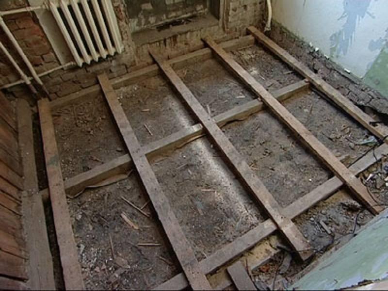 Ремонт деревянных полов в квартире своими руками, цена