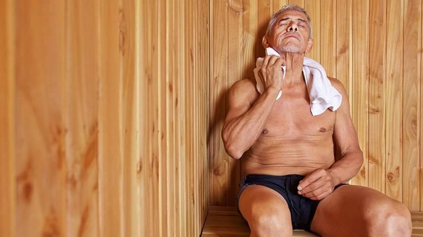 Из-за чего болит голова после посещения бани?