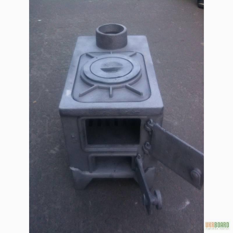 Чугунная печь буржуйка ПЧ-2 — качественная и эффективная