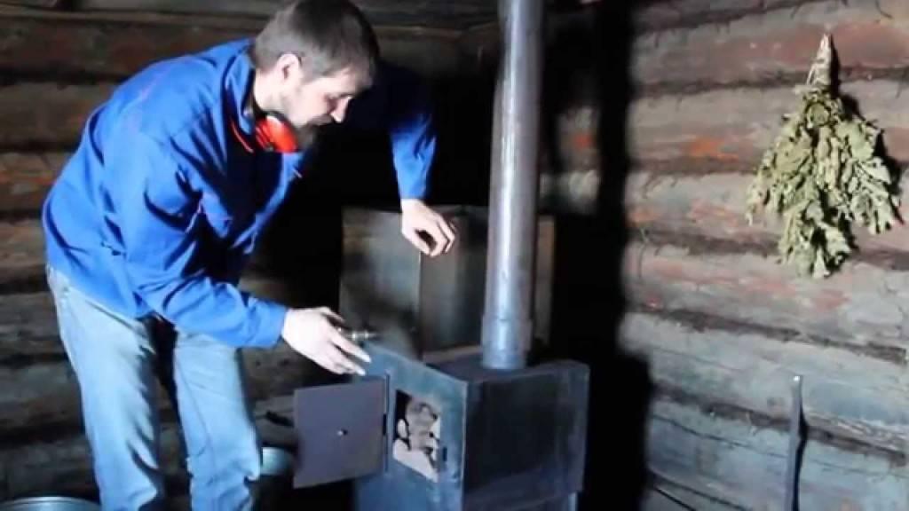 Чем отмыть сажу и копоть в бане с дерева на стенах и потолке