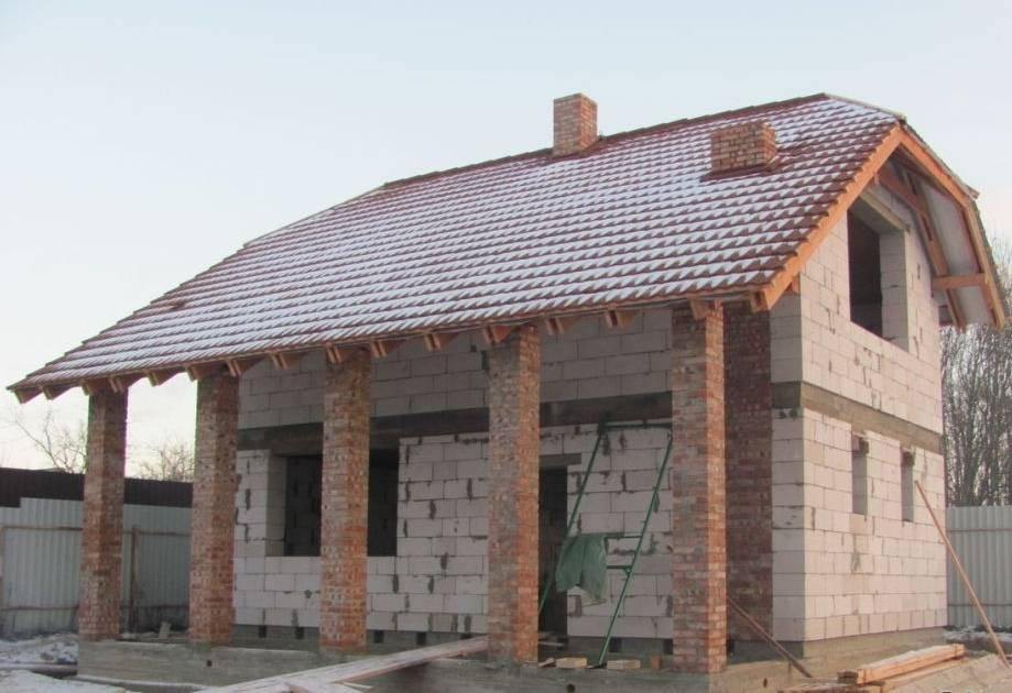 Проекты бань из газобетона — как построить баню своими руками, пошаговая инструкция   все о бетоне