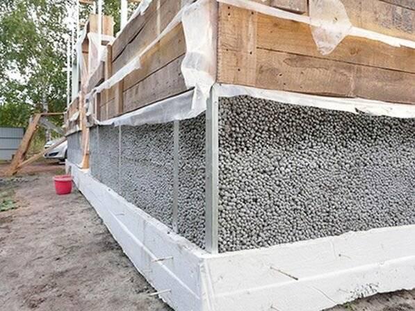 Возведение бани из керамзитобетонных блоков своими руками