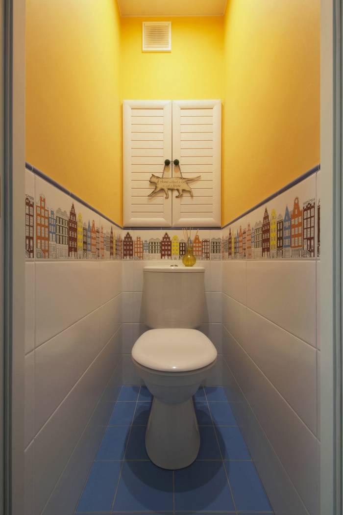 15 идей красивого оформления туалета: санузел под прицелом