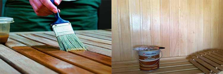 Какие средства подходят для обработки деревянного дома внутри