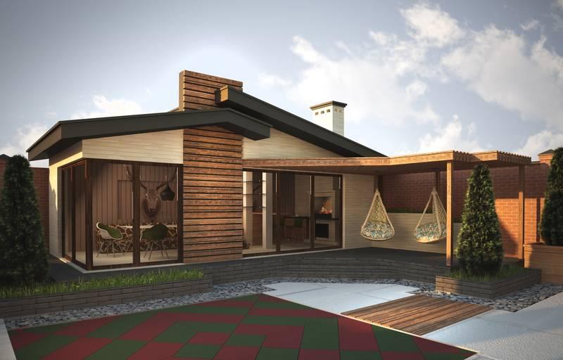 Выбор лучшего варианта проекта бани с террасой