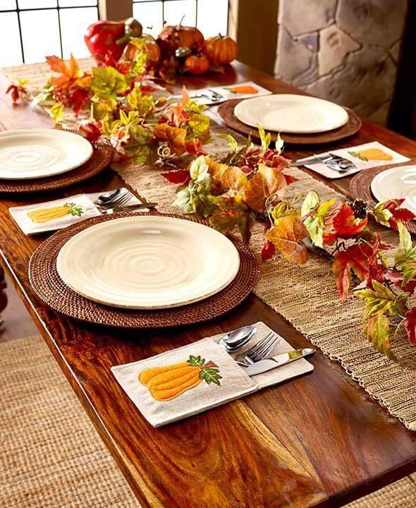 Сервировка стола в домашних условиях - фото примеров