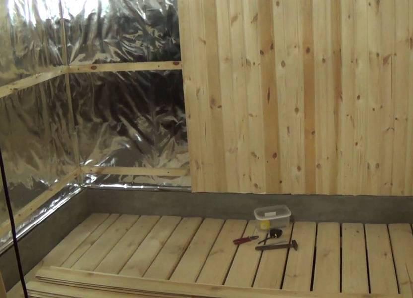 Баня из газобетона своими руками: внутренняя отделка, утепление
