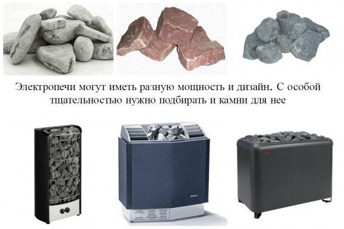 Как правильно уложить камни в банную печь - лучшее отопление