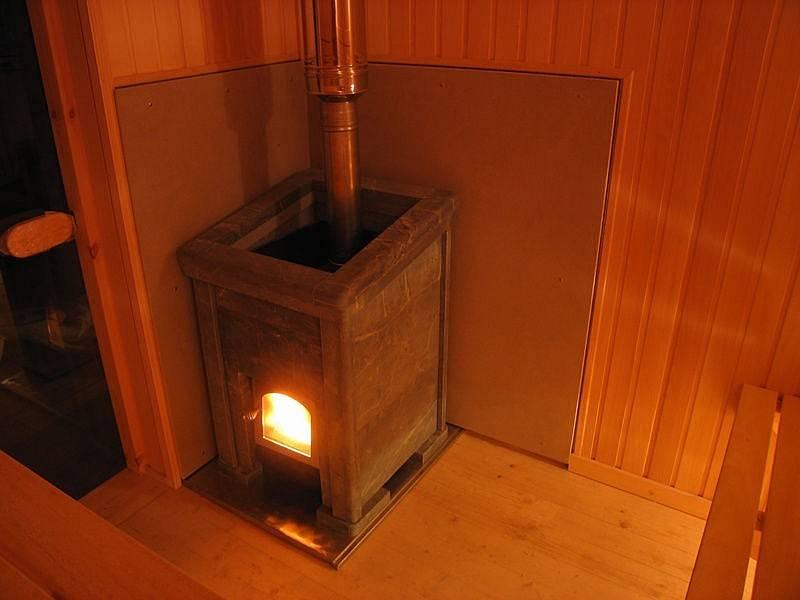 Защита стены от печки в деревянном доме - вместе мастерим