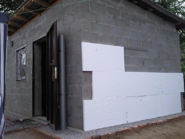Дверные проемы в бане из керамзитобетонных блоков: размеры
