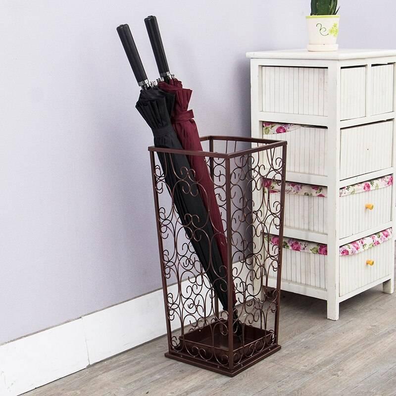 Подставка для зонтов в прихожую: корзина-зонтница, держатель для зонтиков, ваза для хранения, обзор моделей и производителей