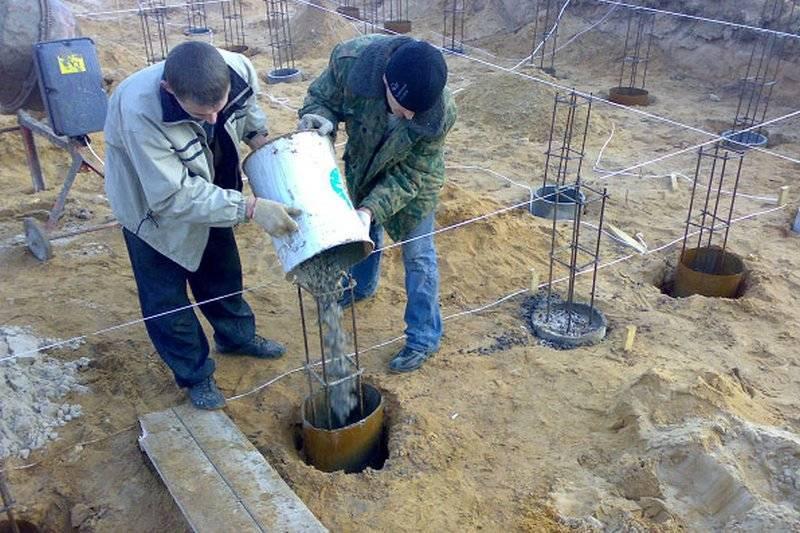 Буронабивной фундамент с ростверком под кирпичный дом своими руками