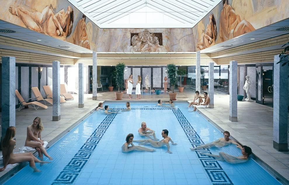 Немецкая сауна. немецкие общие бани – особенности и правила посещения