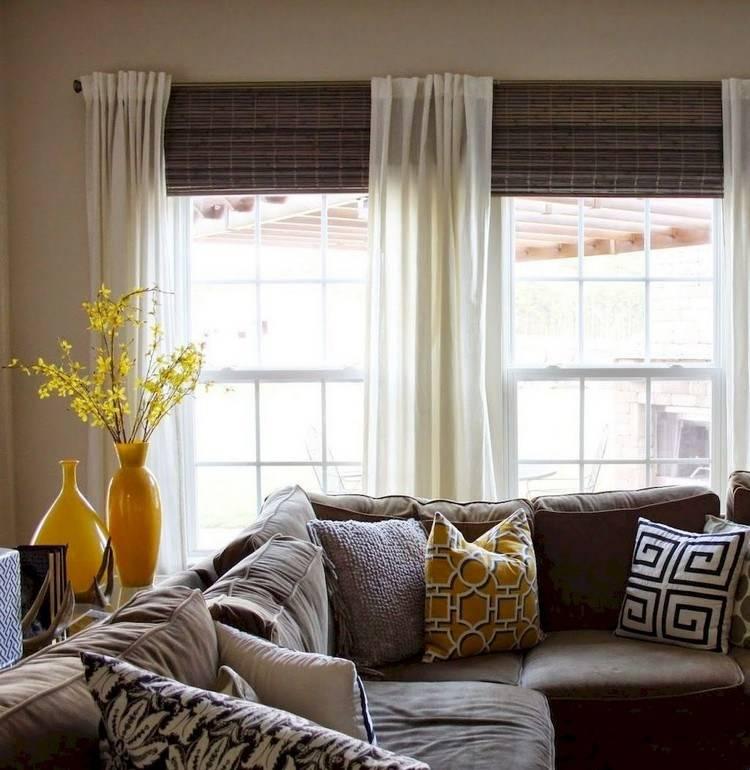 Как оформить окно на кухне без штор: 8 решений + 35 красивых идей в фото