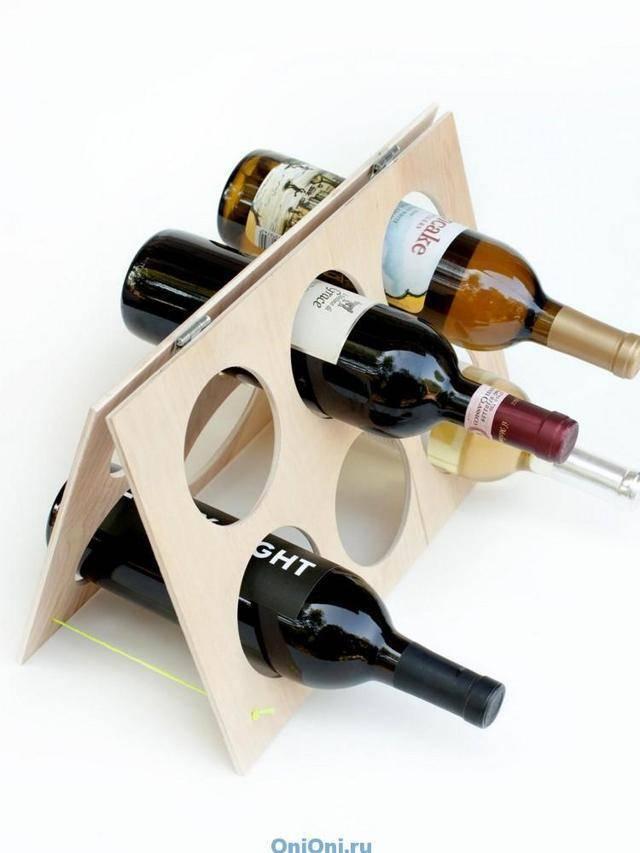 Как выбрать и смастерить винный стеллаж