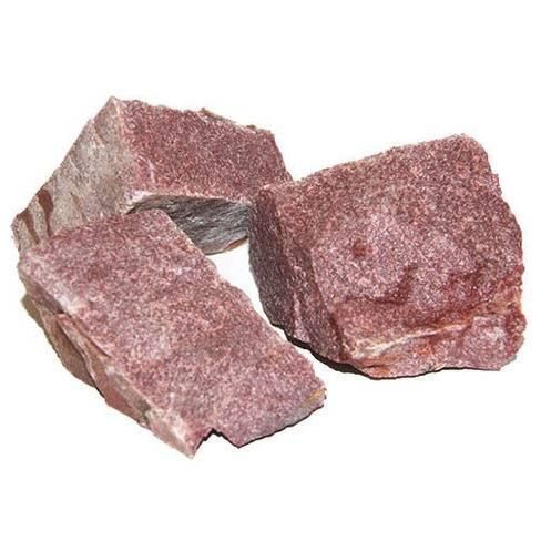 Малиновый кварцит для бани - уникальный камень для печи