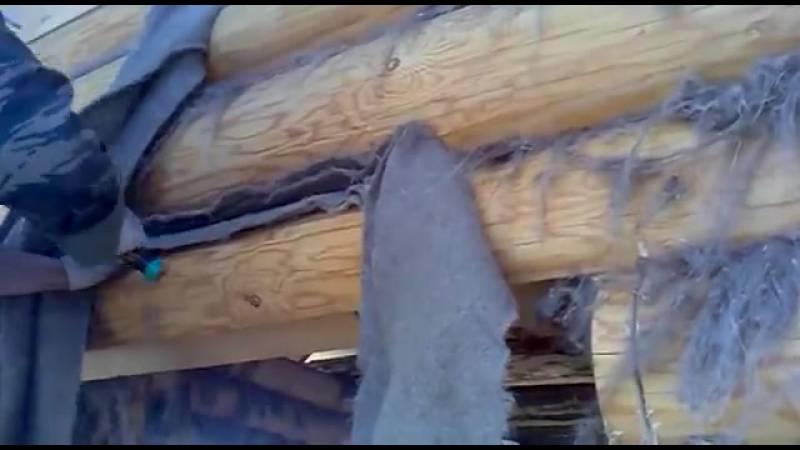 Как конопатить дом из бруса: способы конопатки, советы и рекомендации (видео)