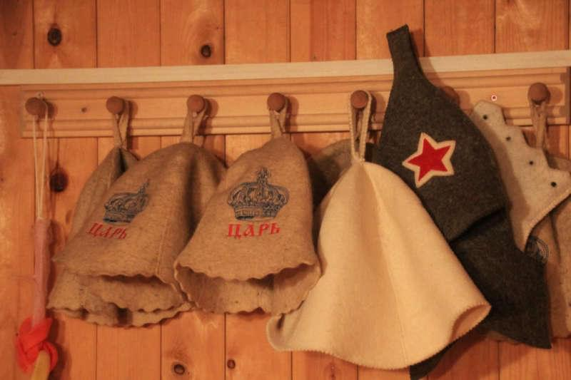 Выкройка и пошив шапки для бани
