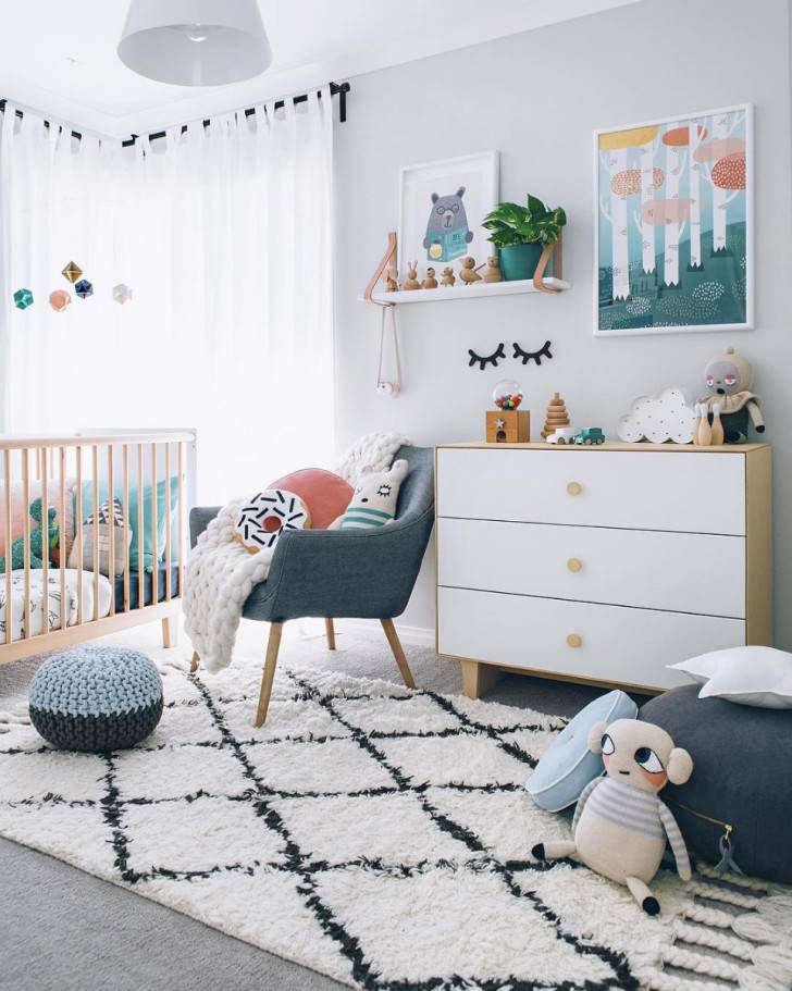 Идеи декора детской комнаты