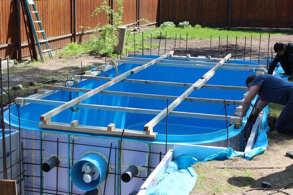 Изготовление бассейна из полипропилена своими руками | housedb.ru