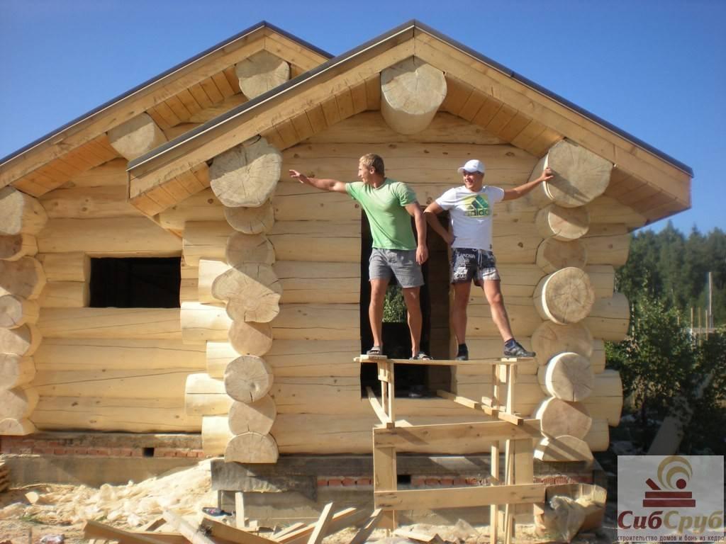 Правильно утепляем деревянную баню из бревна и бруса