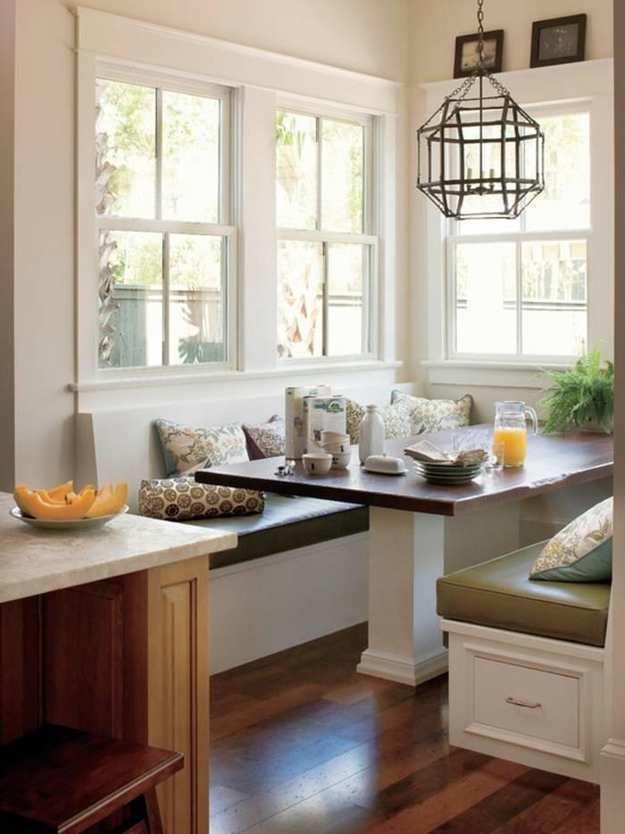Подоконник-столешница на кухне — варианты дизайна
