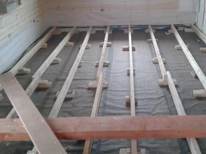 Черновой пол в деревянном доме: 5 лучших вариантов, схемы и пошаговое руководство по строительству