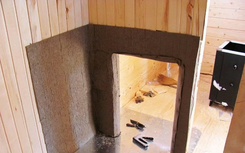 Негорючие материалы для бани, применяемые в парилке, пропитки для стен и потолков в сауне