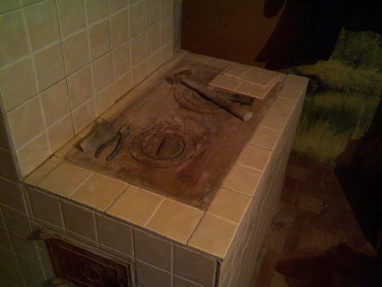 Как обложить печь кафельной плиткой: пошаговая инструкция