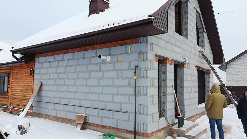 Баня из газосиликатных блоков своими руками: преимущества, этапы строительства | построить баню ру