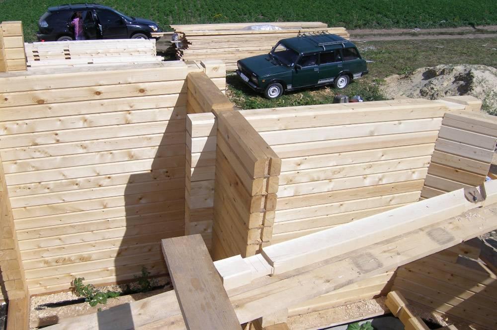 Важное при строительстве дома из бруса, или как не быть обманутым при строительстве деревянного дома.