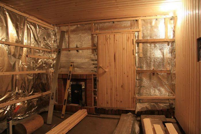 Настоящая русская баня: как утеплить баню из дерева