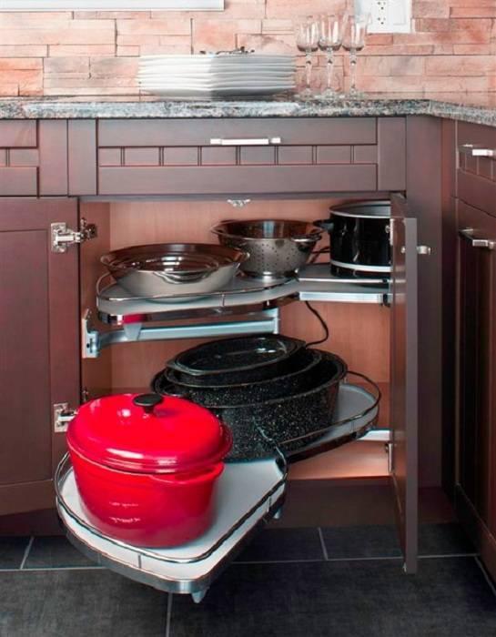 Как сэкономить место на кухне: экономия площади с целью благоустройства