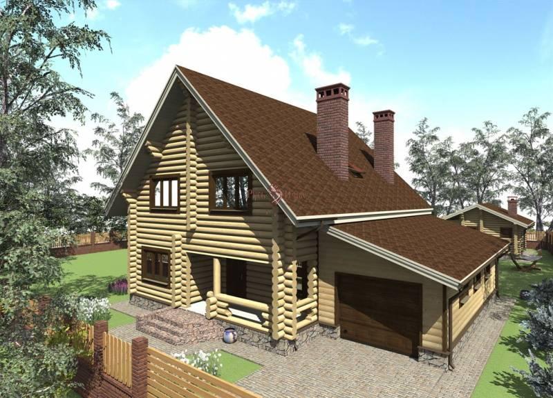 Хотите дом с баней под одной крышей?