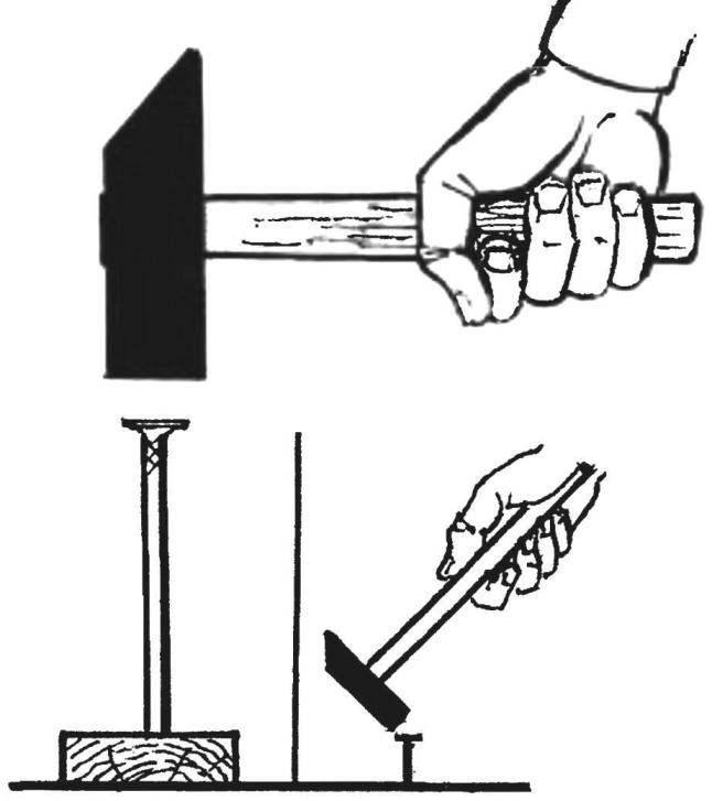 Все способы забивания гвоздя в бетонную стену: молотком, при помощи дрели и перфоратора