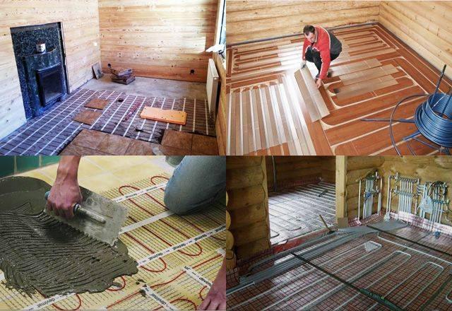 Холодный пол в бане, как исправить: причины   пошаговая инструкция