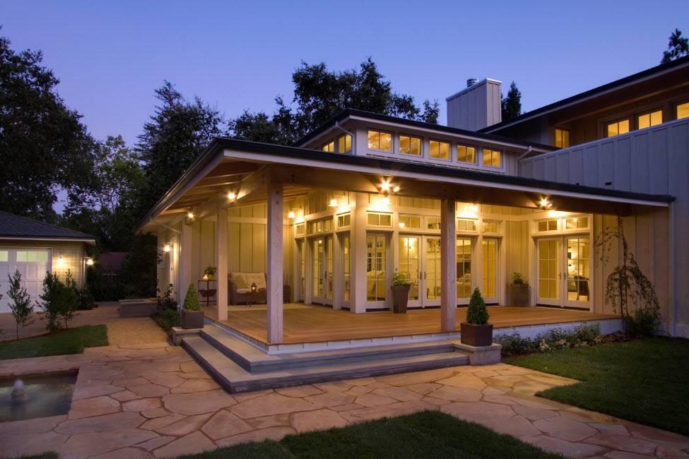 Как сделать крыльцо для частного дома: фото и полезные советы