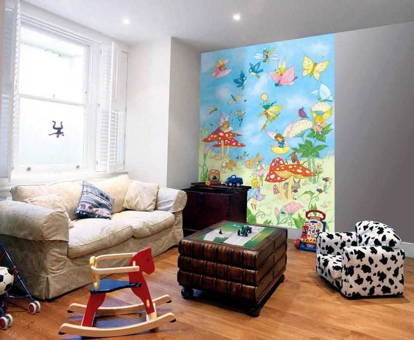Рисунок на стене. больше 100 лучших дизайнерских идей