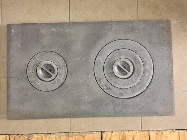 Как заварить чугунную плиту на печи