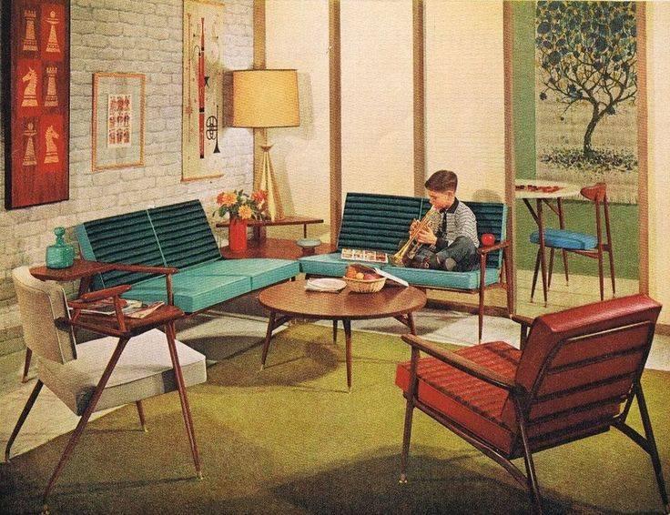 Советский стиль интерьера: как менялся дизайн, мелочи - 75 фото