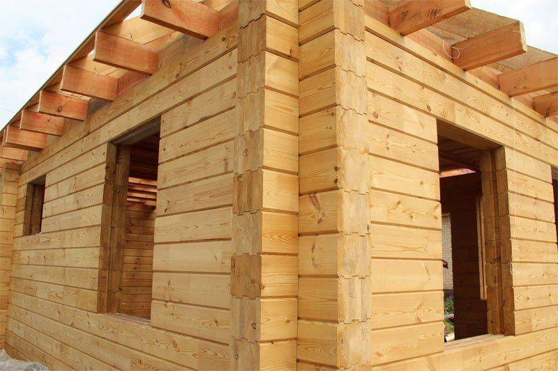 Баня из клееного бруса: полезные советы по строительству + правила выбора стройматериала